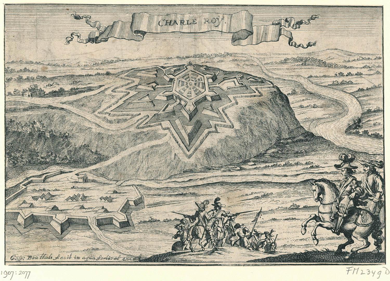 1672-Dertien gezichten op vestingen en steden ingenomen door de Fransen en de bisschop van Munster in 1672