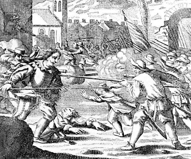 Puerto_del_Príncipe_-_being_sacked_in_1668