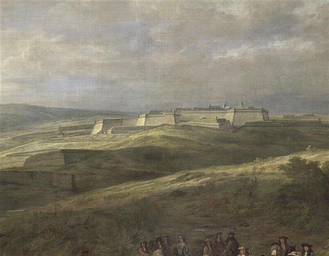 VAN DER MEULEN Adam Frans-PRISE DE CHARLEROI.12 JUIN 1667-ville-forteresse
