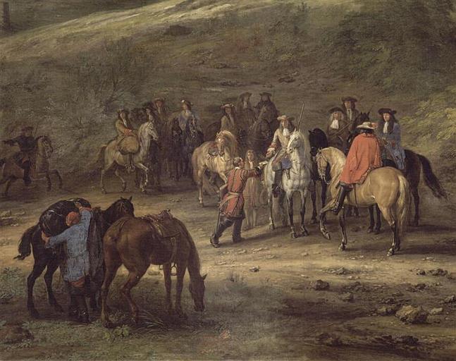 VAN DER MEULEN Adam Frans-PRISE DE CHARLEROI.12 JUIN 1667-ville-team