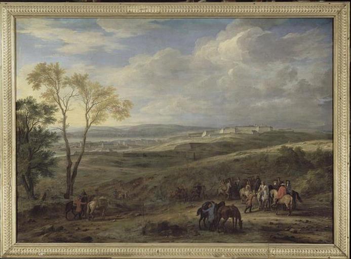 VAN DER MEULEN Adam Frans-PRISE DE CHARLEROI.12 JUIN 1667