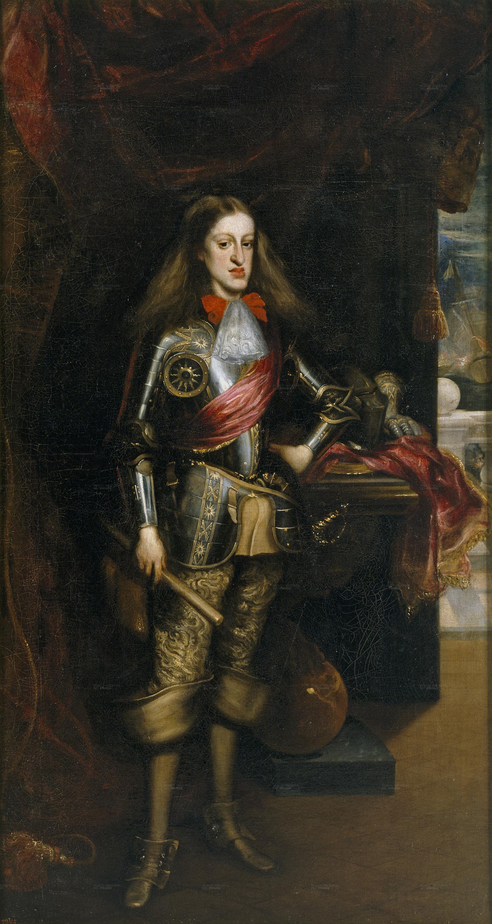 Carlos_II,_con_armadura_