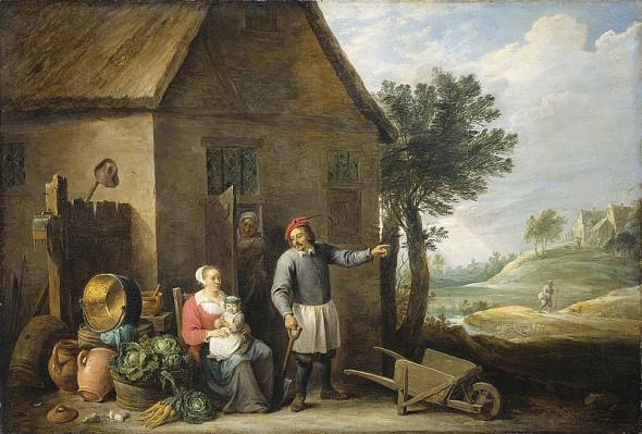 David Teniers -le jeune- between 1640 and 1670