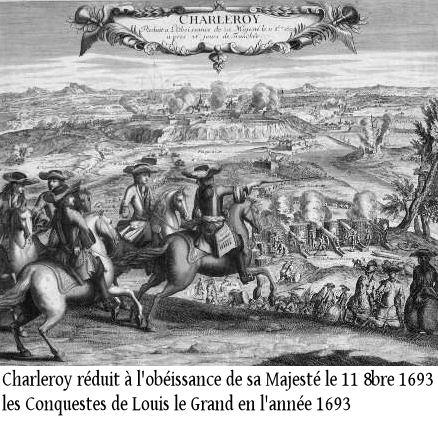 1693-Charleroy réduit à l'obéissance de sa Majesté