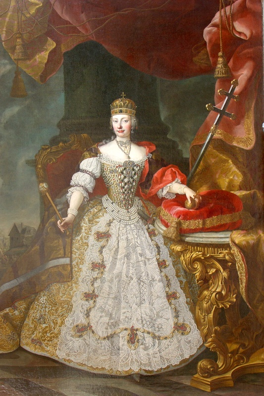 Mária-Terézia, reine de Hongrie
