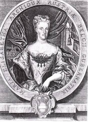 Marie-Elizabeth archiduchesse d'Autriche, gouvernante des Pays-Bas