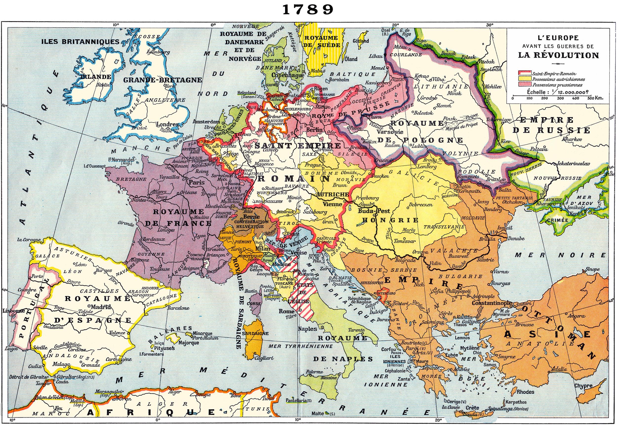 Europe-1789