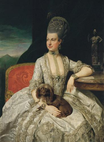 Marie-Christine de Habsbourg-Lorraine, archiduchesse d'Autriche, duchesse de Teschen, gouvernante des Pays-Bas. 1776