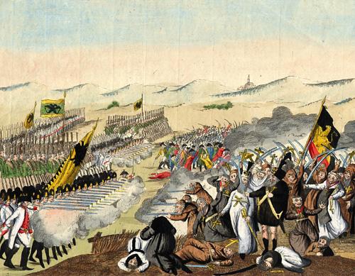 Bataille de Falmagne 22 septembre 1790