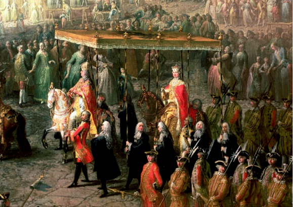 The_Coronation_Procession_of_Joseph_II_(detail)